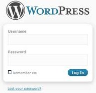 WordPress Sign In